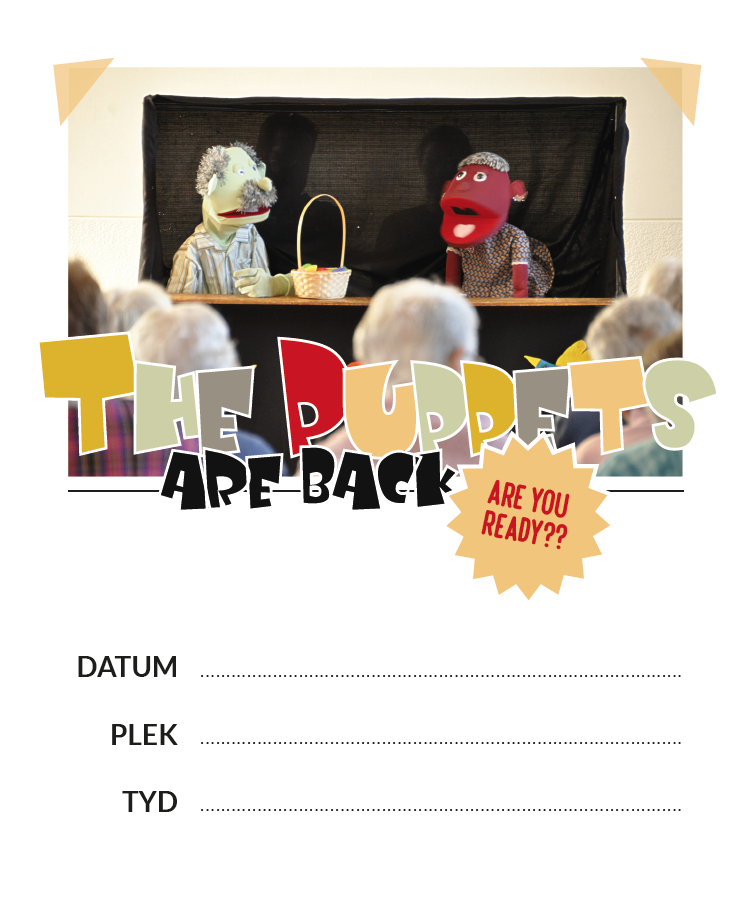 Puppet Theatre for Elderly : poster